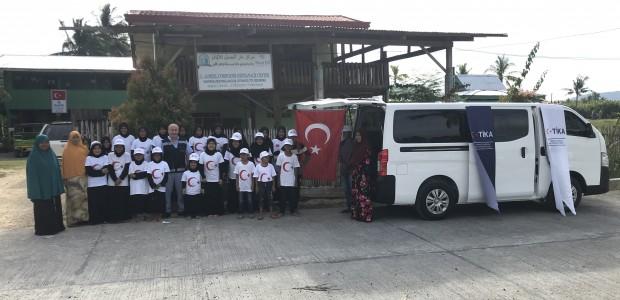 تيكا التركية تدعم دار الايتام في الفلبين  - 1