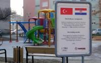TİKA'dan Hırvatistanlı Çocuklara Oyun Parkı