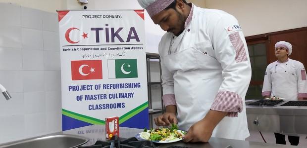 TİKA Supports Pakistan's Oldest Culinary School - 1
