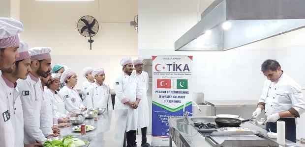 TİKA Supports Pakistan's Oldest Culinary School - 3