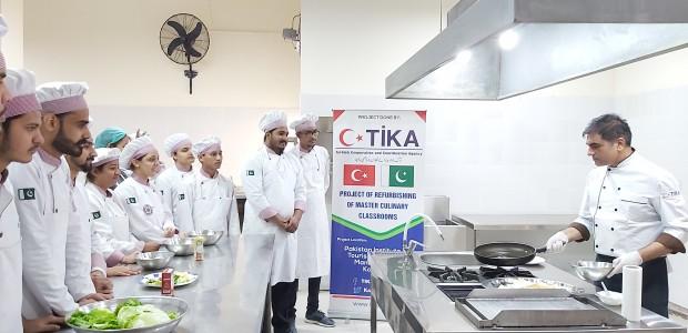 TİKA Supports Pakistan's Oldest Culinary School - 5