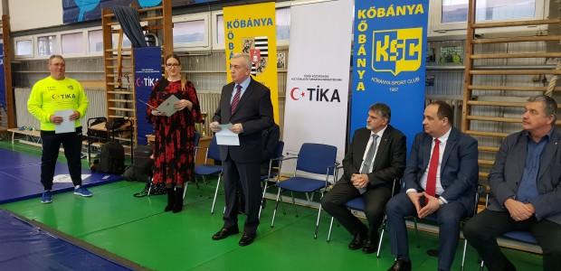 TİKA'dan Macaristan'da Spora Destek  - 1