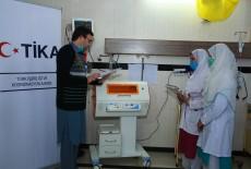 TİKA'dan Pakistan'a Sağlık Desteği