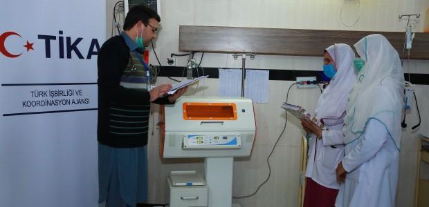 TİKA'dan Pakistan'a Sağlık Desteği - 4