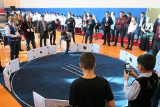 TİKA Supports the Knuckle Bone Tournament, a Traditional Game, in Kazakhstan