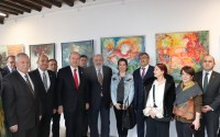 """TİKA Supports the """"Contemporary Turkish Female Painters Exhibition"""" in the TRNC"""