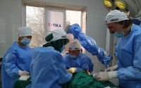 Turkish Doctors Examined 300 People and Performed 35 Surgeries in Kyrgyzstan
