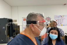 Kolombiya'da Türk Malı 3D Yazıcılar Koronavirüs İle Mücadelede Kullanıyor