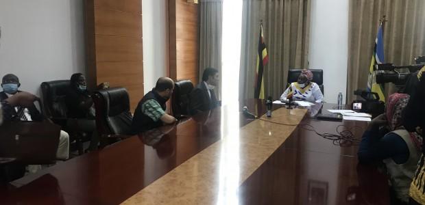 Uganda'da Kovid 19 İle Mücadelede TİKA'dan Destek   - 2