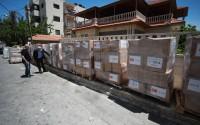 تيكا التركية توزع 7500طرد غذائي على المحتاجين بالضفة الغربية