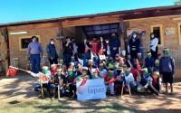 تيكا التركية توزع مساعدات للأطفال من ذوي الاحتياجات الخاصة في باراغواي