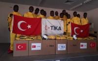 TİKA'dan Namibya'daki Genç Sporculara Destek