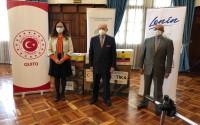 TİKA'dan Ekvador'un Sağlık Altyapısına Destek
