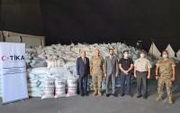 """""""تيكا"""" التركية تسلم 400 طن من القمح في لبنان"""