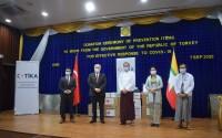 TİKA'nın Myanmar'ın Kovid19 ile Mücadelesine Desteği Sürüyor