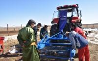 TİKA Supports Mongolian Farmers