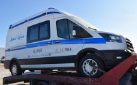 TİKA Provides an Ambulance to Tunisia to Support Its Fight against COVID19
