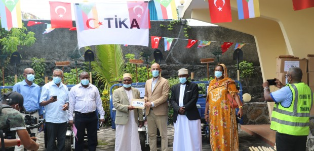 TİKA Provided Equipment to Moroni Municipality in the Union of the Comoros - 1