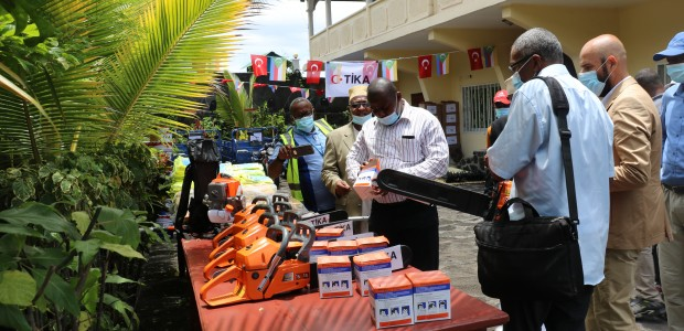 TİKA Provided Equipment to Moroni Municipality in the Union of the Comoros - 2
