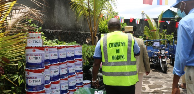 TİKA Provided Equipment to Moroni Municipality in the Union of the Comoros - 3