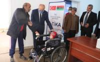 TİKA'dan Libya'da Engellilere Tekerlekli Sandalye Desteği
