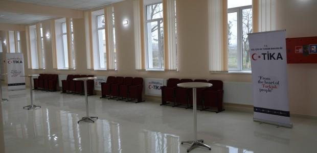 Ukrayna'daki Gagauz Kültür Evinin Tadilatı TİKA Tarafından Tamamlandı  - 3