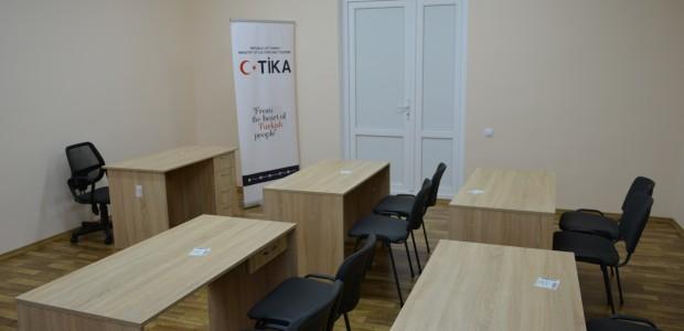 Ukrayna'daki Gagauz Kültür Evinin Tadilatı TİKA Tarafından Tamamlandı  - 4