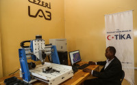 TİKA Built A Fully Equipped 3D Lab in Sudan