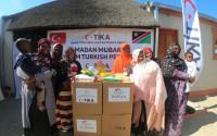 TİKA'nın Erenler Sofrası Namibya'da