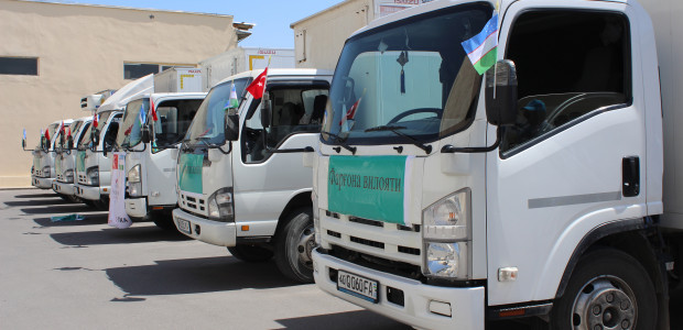 TİKA's Erenler Sofrası is in Uzbekistan - 3