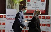 TİKA's Erenler Sofrası Keeps On Spreading Joy to Needy People in Kyrgyzstan