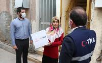 TİKA Distributes 2,000 Hygiene Packages in TRNC