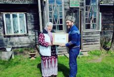 "The Karaite Turks and Tatars are at the ""Erenler Sofrası"" in Lithuania"