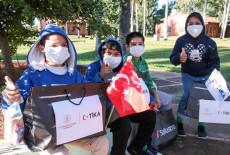 TİKA's Ramadan Present to Orphaned Children in Paraguay