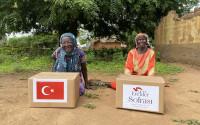 TİKA'nın Erenler Sofrası Uganda'daki İhtiyaç Sahibi Aileler İçin Kuruldu