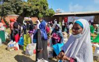 Erenler Sofrası Zimbabve'de İhtiyaç Sahipleri İçin Kuruldu