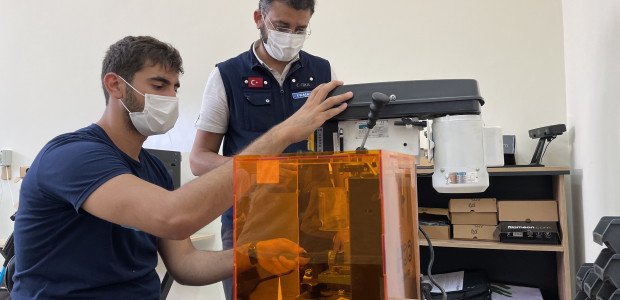 Lübnan'da TİKA Tarafından Kurulan Dijital Üretim Laboratuvarı Faaliyete Başladı  - 3