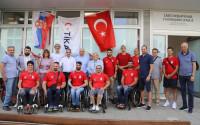 TİKA'dan Sırbistan Tekerlekli Sandalye Basketbol Federasyonuna Destek