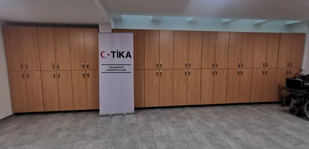 TİKA'dan Sırbistan Tekerlekli Sandalye Basketbol Federasyonuna Destek  - 4