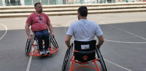 TİKA'dan Sırbistan Tekerlekli Sandalye Basketbol Federasyonuna Destek  - 5
