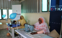 Sudanese Women Entering a Profession with the Support of TİKA