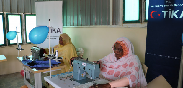 Sudanese Women Entering a Profession with the Support of TİKA - 1