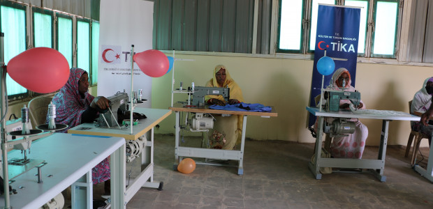 Sudanese Women Entering a Profession with the Support of TİKA - 2