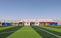 Tal Afar Football Field Constructed by TİKA in Iraq Has Been Completed