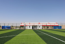 تيكا التركية تنهي اعمال بناء ملعب تلعفر لكرة القدم في العراق
