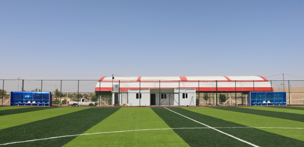 Tal Afar Football Field Constructed by TİKA in Iraq Has Been Completed - 1