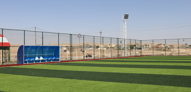Tal Afar Football Field Constructed by TİKA in Iraq Has Been Completed - 2