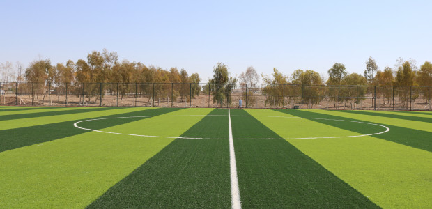 Tal Afar Football Field Constructed by TİKA in Iraq Has Been Completed - 3