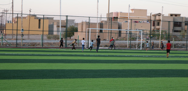 Tal Afar Football Field Constructed by TİKA in Iraq Has Been Completed - 5