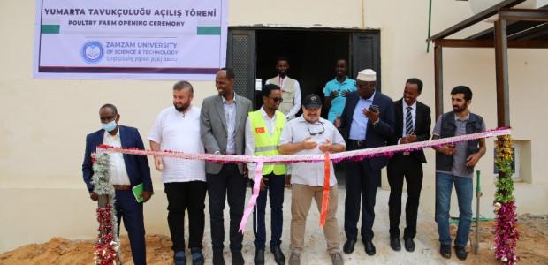 TİKA'dan Somali'de Modern Tavukçuluğa Destek  - 5